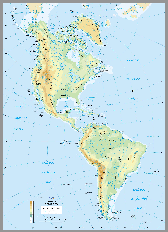 mapas geografía